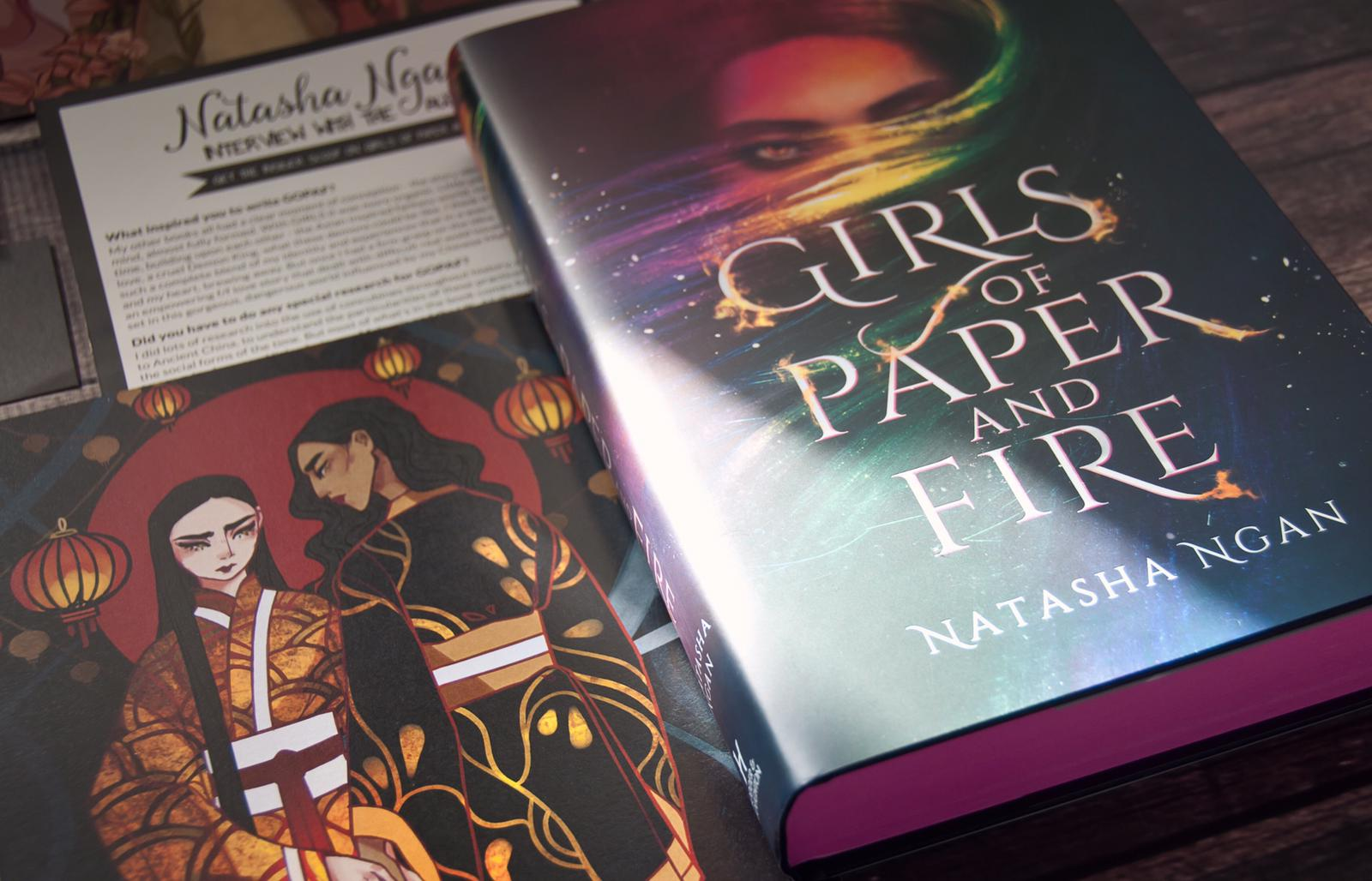 Girls of Paper and Fire Readalong: Day 1