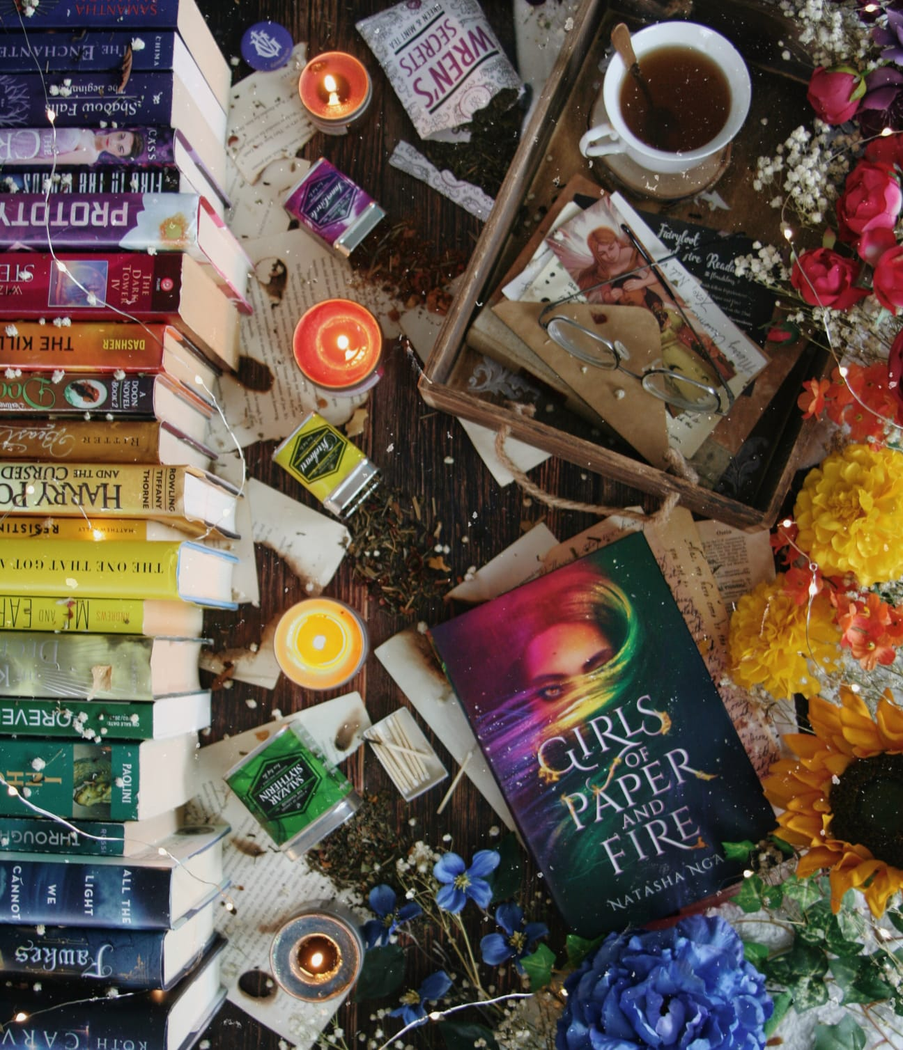 Girls of Paper and Fire Readalong: Day 2
