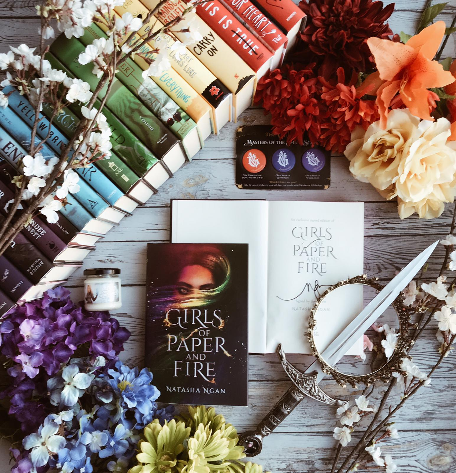 Girls of Paper and Fire Readalong: Day 5