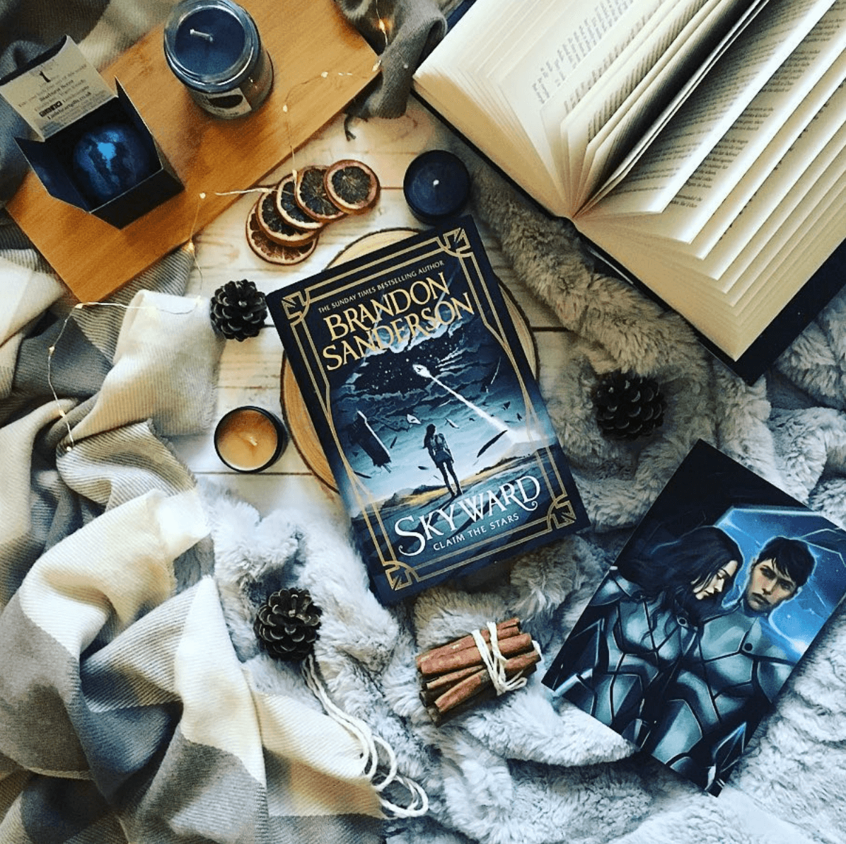 Skyward by Brandon Sanderson Readalong schedule