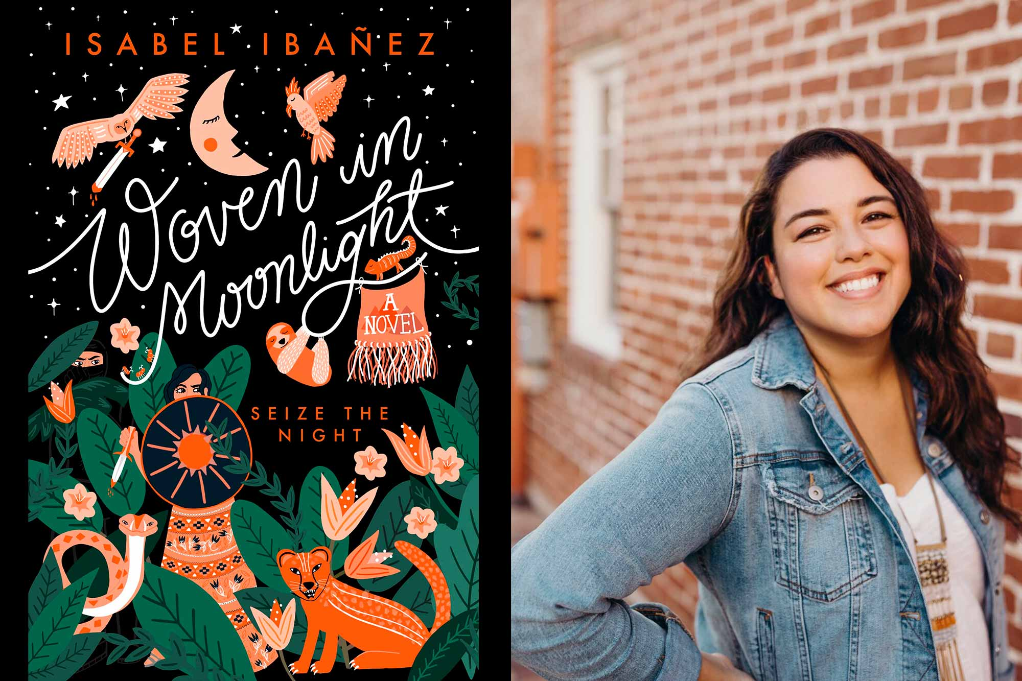 Isabel Ibañez on Woven in Moonlight