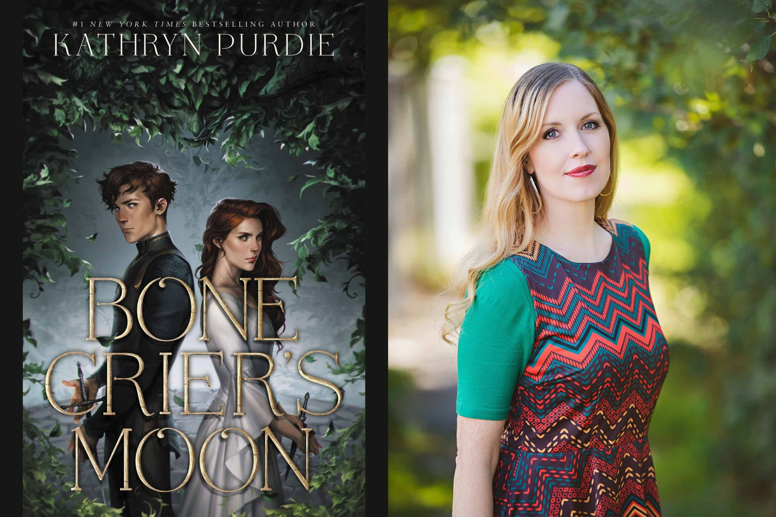 Kathryn Purdie on Bone Crier's Moon