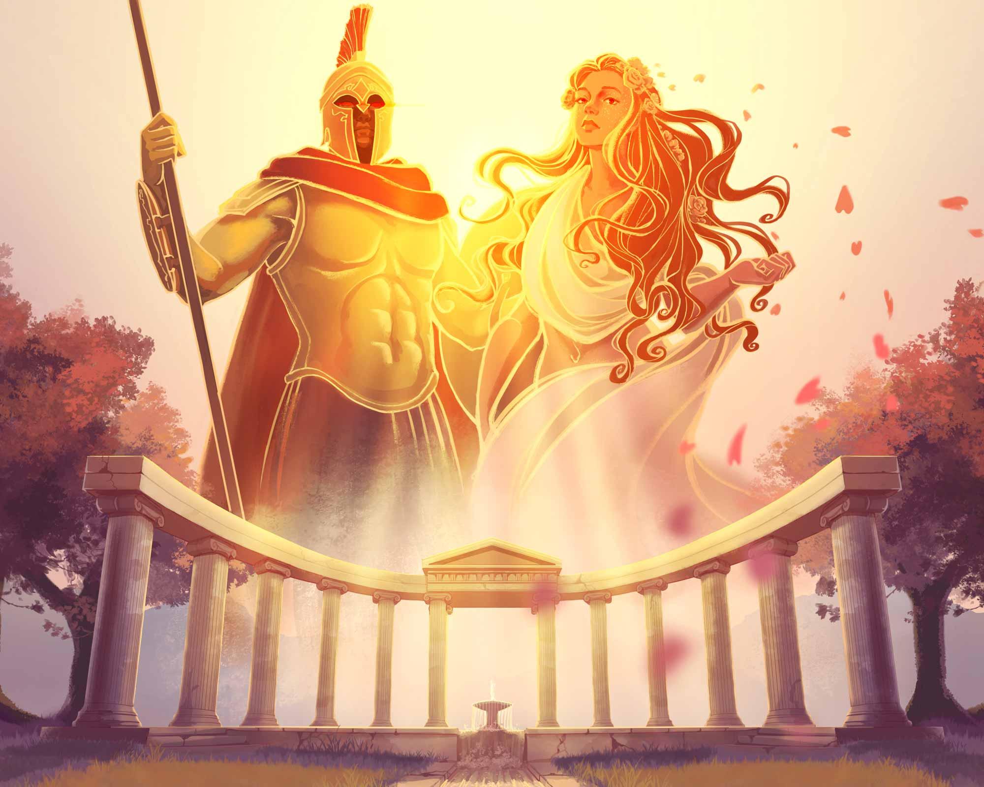 January Theme: GREEK MYTHOLOGY