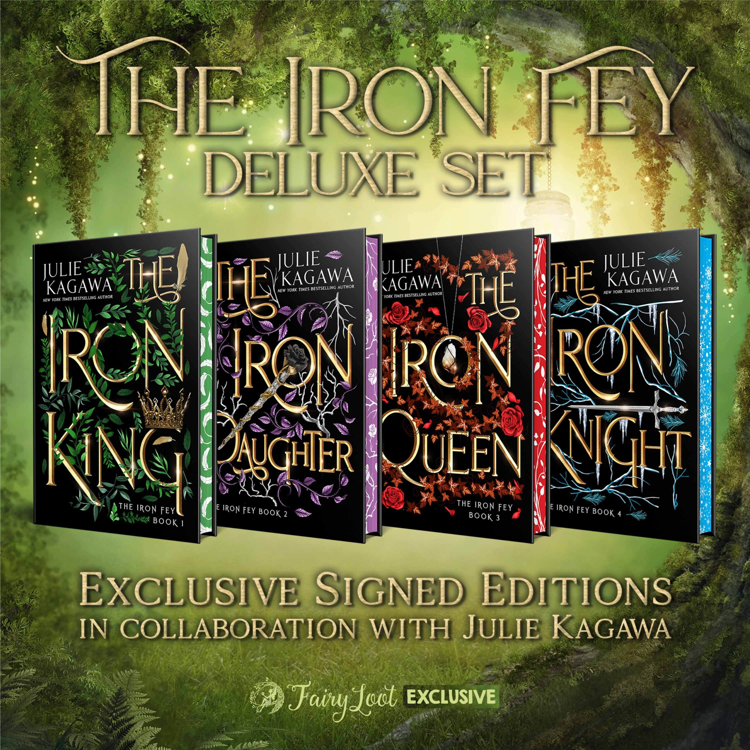 The Iron Fey DELUXE SET