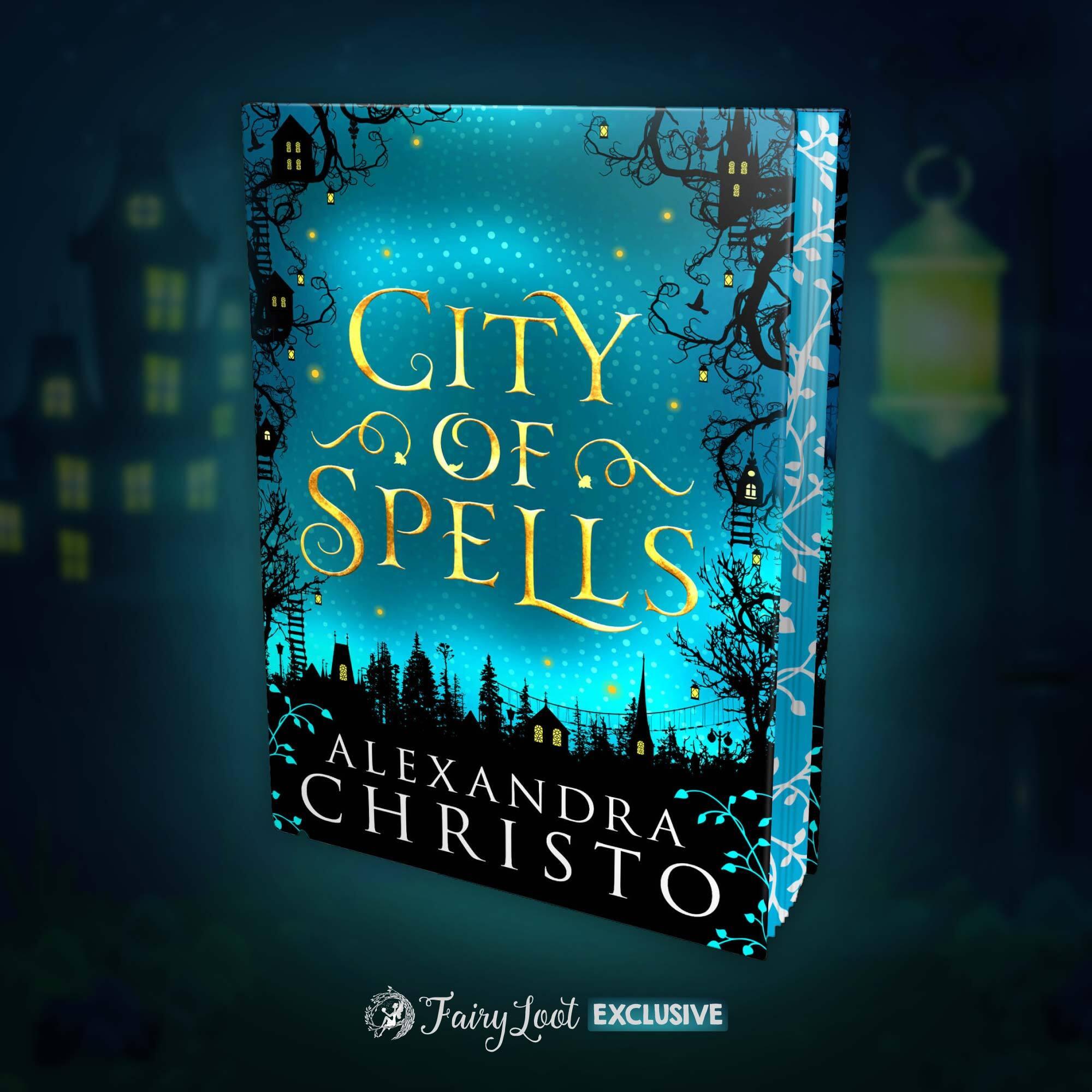 City of Spells by Alexandra Christo