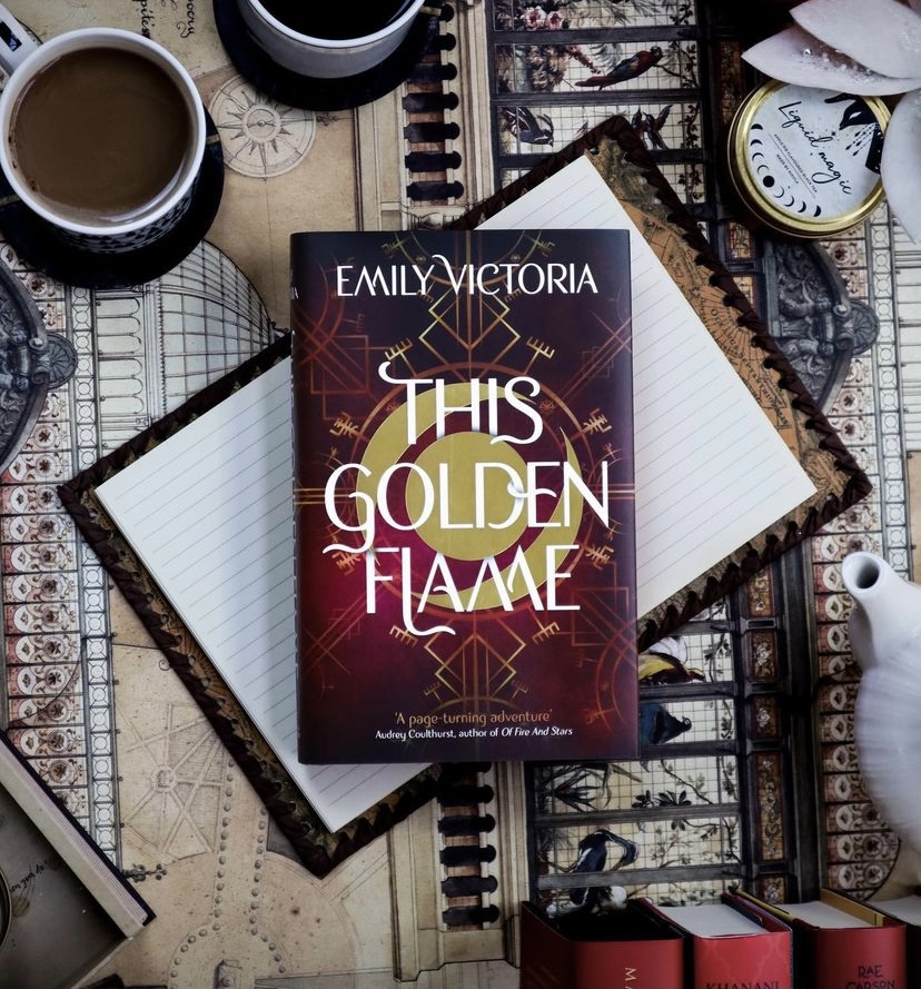 This Golden Flame Readalong: Day 3!
