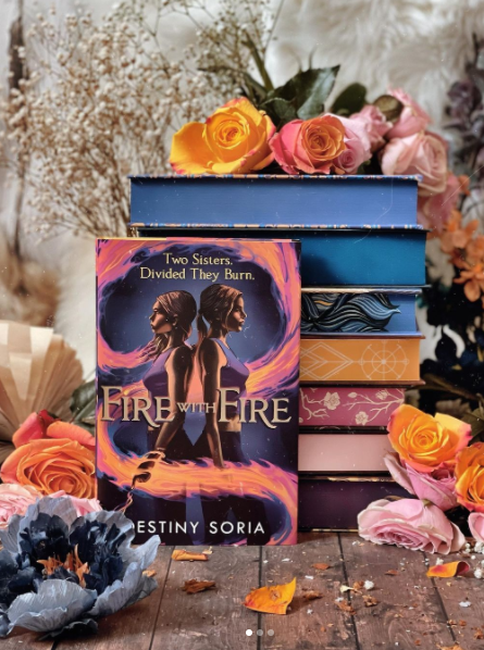 Fire With Fire Readalong: Day 1!