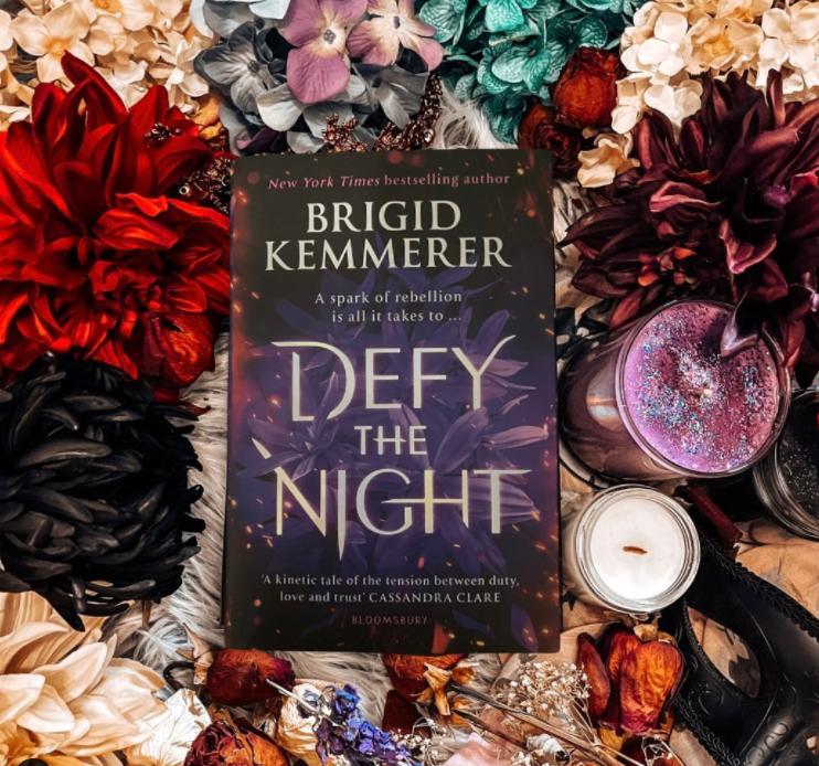 Defy the Night Readalong Schedule